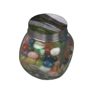 Peak District candy jars and tins Glass Candy Jars