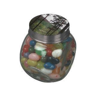 Peak District candy jars and tins Glass Jar