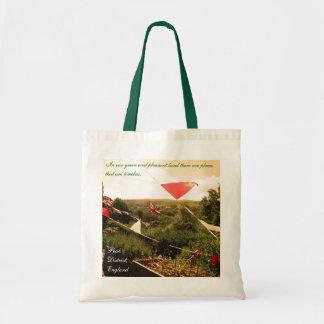 Peak District canvas tote bag