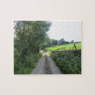 Peak District Country Lane Jigsaw Puzzle