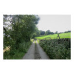 Peak District Country Lane Posters
