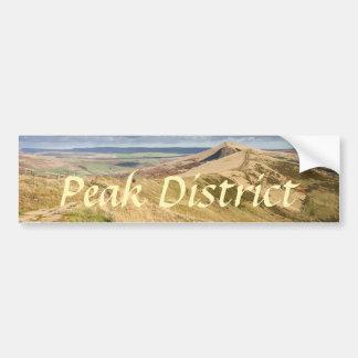 Peak District view from Mam Tor souvenir photo Bumper Sticker