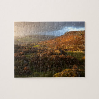 Peak District view over Curbar Edge Jigsaw Puzzle