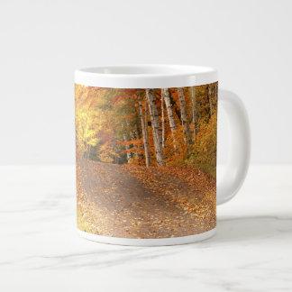 Peak Fall Foliage Season in the U. P. 20 Oz Large Ceramic Coffee Mug