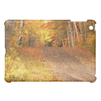 Peak Fall Foliage Season in the U. P. iPad Mini Cover