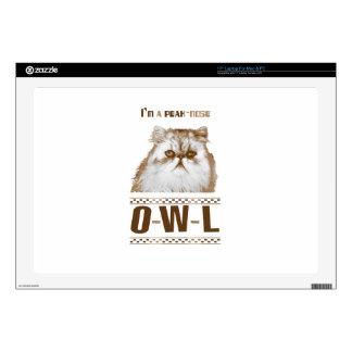 Peak-nose Owl (Cat) Skins For Laptops