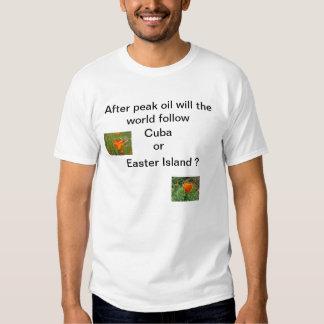 Peak Oil T-shirt