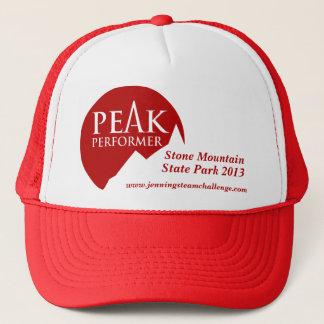 """Peak Performer"" mens logo red promotion cap"