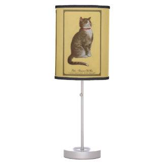 Peake, Chessie's Old Man tomcat tabby cat Desk Lamp