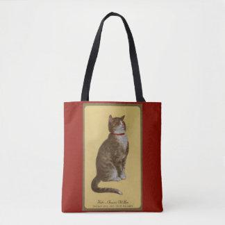 Peake, Chessie's Old Man tomcat tabby cat Tote Bag