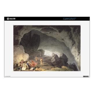 "Peaks Hole, Derbyshire (colour engraving) Decals For 15"" Laptops"