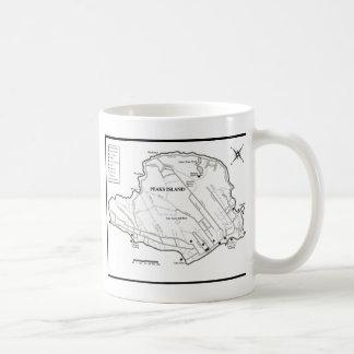 Peaks Island Classic White Coffee Mug