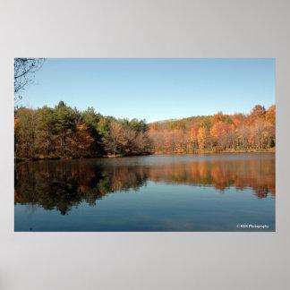 Peaks Lake in the Poconos. print 039
