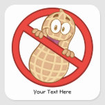 Peanut Allergy 2 (customizable) Sticker
