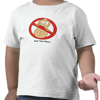 Peanut Allergy 2 (customizable) T Shirt