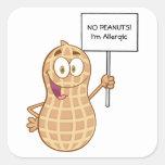 Peanut Allergy (customizable) Sticker