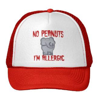 Peanut Allergy Elephant Trucker Hat