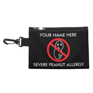 Peanut Allergy Emergency Kit / Epinephrine Inside Accessories Bags