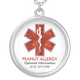 Peanut Allergy Medical   Necklace