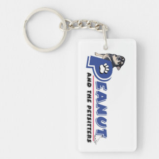 Peanut and the Petsitters keychain