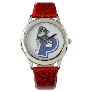 Peanut and the Petsitters logo watch