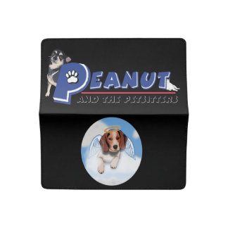 Peanut and the Petsitters with Beagle checkbook Checkbook Cover