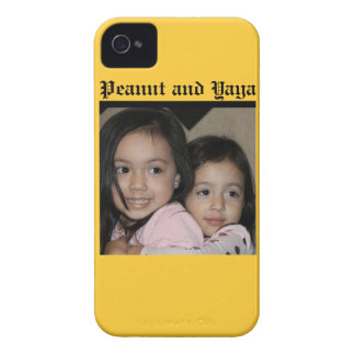 Peanut and Yaya iPhone 4 Case-Mate Case