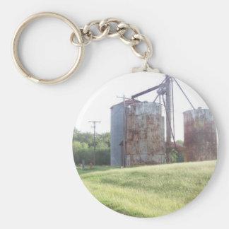 Peanut Bins(Calvin Oklahoma) Keychain