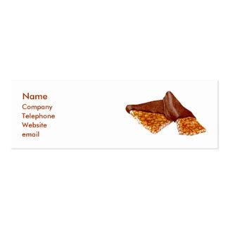 Peanut Brittle Business Card