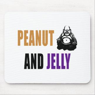Peanut Buddha & Jelly Mouse Pad