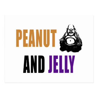 Peanut Buddha & Jelly Postcard