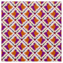 Peanut Butter and Grape Jelly Seamless Pattern Fabric