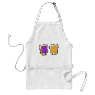Peanut Butter and Jelly Adult Apron