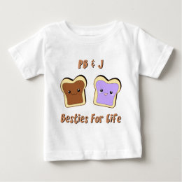 Peanut Butter and Jelly Baby T-Shirt