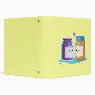 Peanut Butter and Jelly Binder