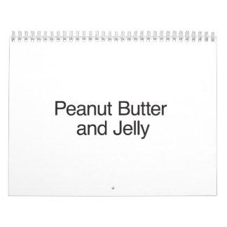 Peanut Butter and Jelly Calendar