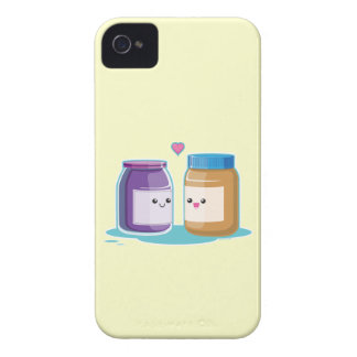 Peanut Butter and Jelly iPhone 4 Case-Mate Cases