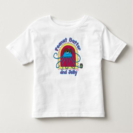 Peanut butter and jelly fish toddler t shirt zazzle for Peanut butter t shirt dress