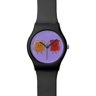 Peanut Butter and Jelly Fist Bump friends toast Watch