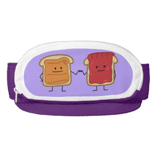 Peanut Butter and Jelly Fist Bump Visor