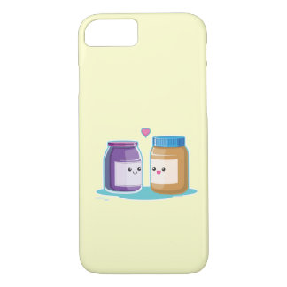 Peanut Butter and Jelly iPhone 7 Case