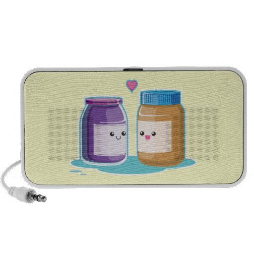 Peanut Butter and Jelly iPhone Speakers