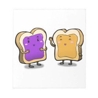 Peanut Butter and Jelly Memo Note Pads