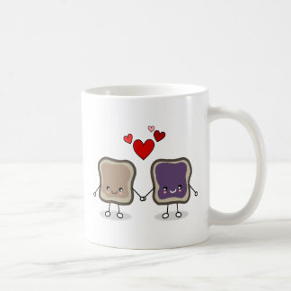 Peanut Butter and Jelly Coffee Mugs