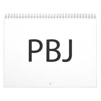 Peanut Butter and Jelly -or- Pretty Boy Jock.ai Calendar