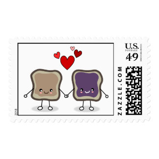 Peanut Butter and Jelly Stamps