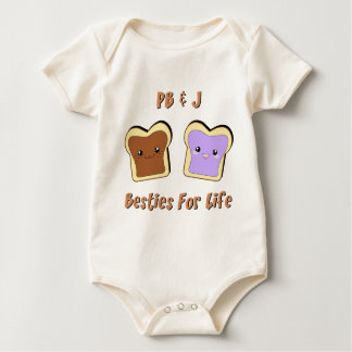 Peanut Butter and Jelly Rompers