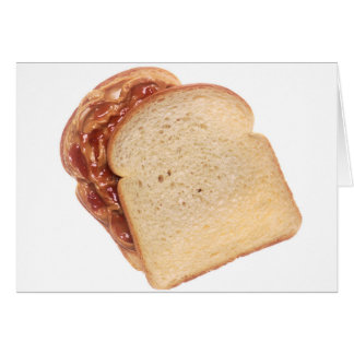Peanut Butter and Jelly Sandwich Card
