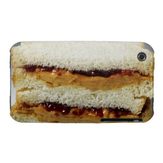 Peanut butter and jelly sandwich. Case-Mate iPhone 3 case