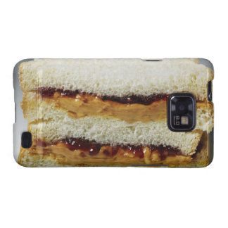 Peanut butter and jelly sandwich. galaxy SII cases